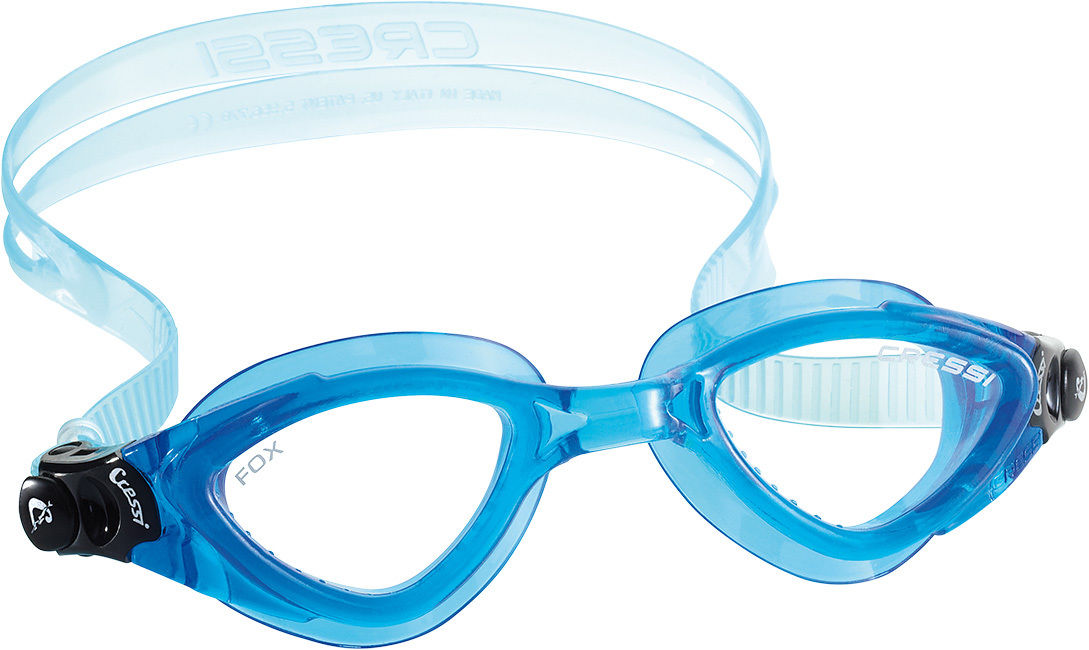 3e8d45439ef1 Occhialini Nuoto Piscina Snorkeling Cressi Fox Clear Adulto