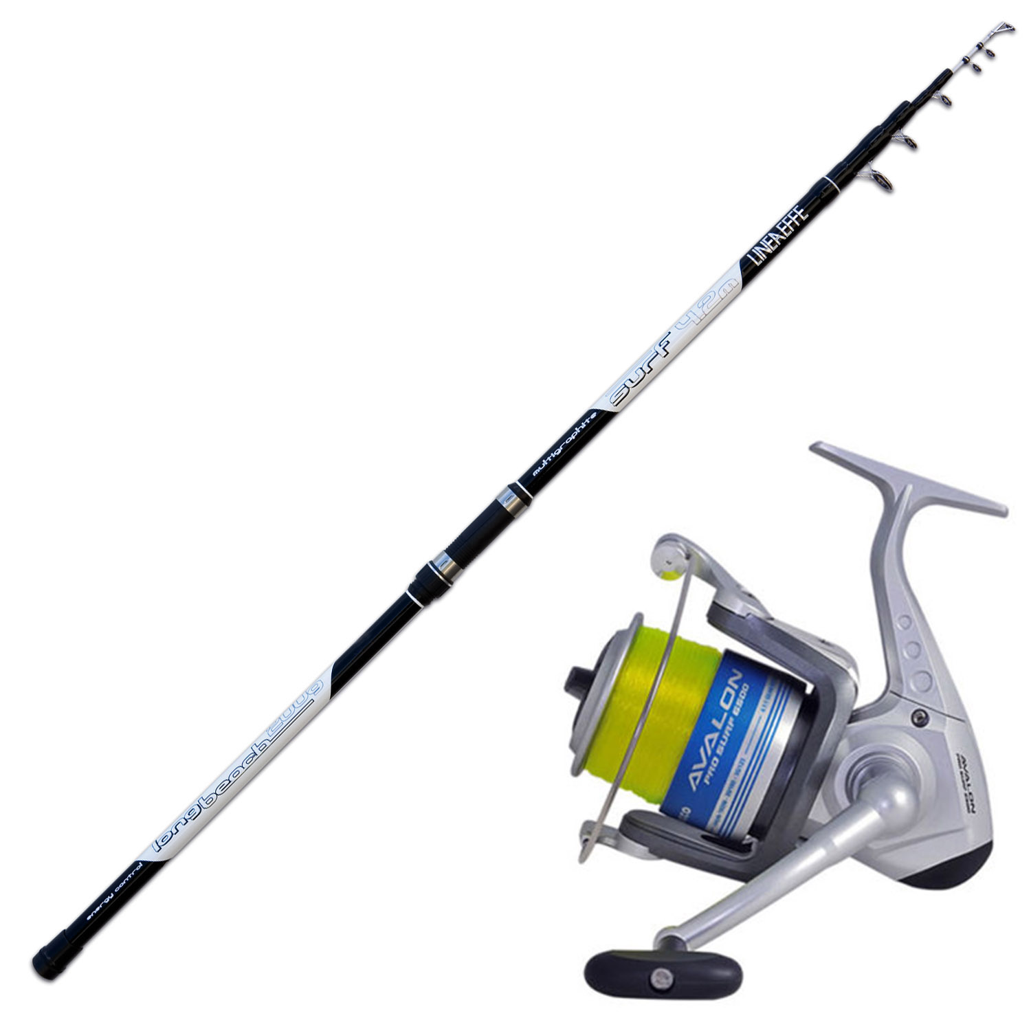 Canna Surf Casting Lead 200 Gr Mulinello Trabucco 65 a1d0330ce8d7