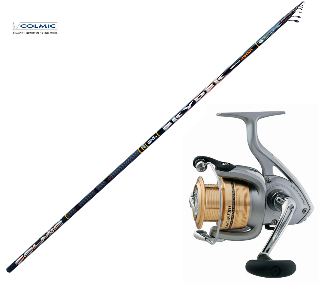 KP2580 Kit Bolognese Fishing Rod Colmic Skydek 5 m +