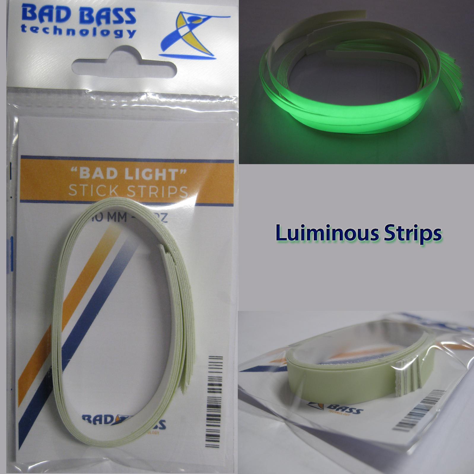 Strisce fosforescenti adesive badbass vendita attiranti for Strisce led adesive