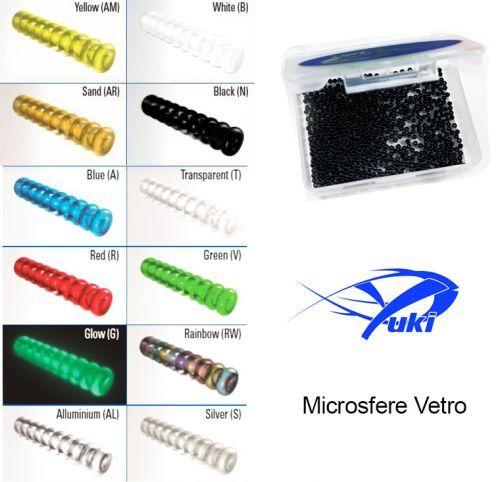 MICROPERLE - MIcro Sfere in Vetro Yuki x Terminali Surfcasting
