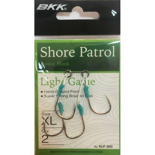 MJF-800 - BKK Shore Patrol Assist Double pesca jig slow