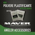 00191001 Maver Powder Plasticizer x Conduce arena ligera 80gr pesca de surf