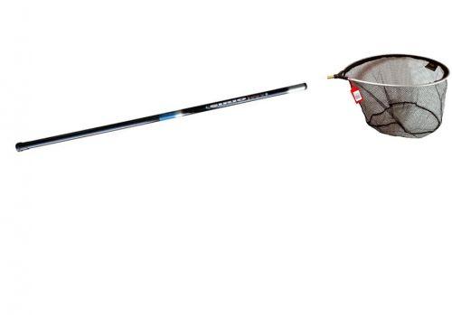 Pesca Manico Telescopico x Guadino 3Mt Regolabile+TESTA 55cm