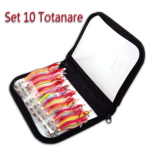 Kit 10 Totanare Assortite Con Custodia