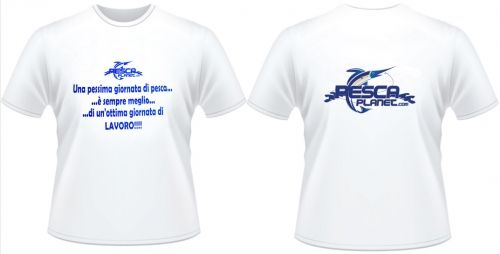 T-shirt Pescaplanet