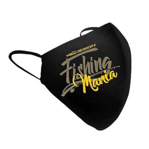 011002799 - HotSpot Mascherina Fishing Mania Yellow
