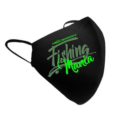 011002899 - HotSpot Mascherina Fishing Mania Green