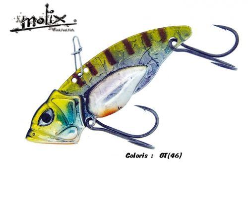 Novita\' assoluta Molix Artificiale pesca Metal Concept Trago Vib
