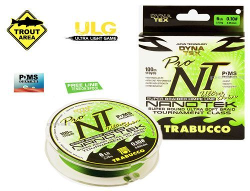 DINATEX-NT - Trabucco Braid Nano Tek Trout Spinning