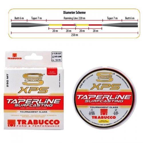 05375018 - Filo Trabucco Taper Line 250 m 0.18 mm
