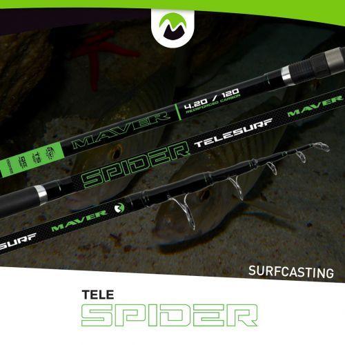 05732002 - Maver canna pesca Surf Spider 420 150gr