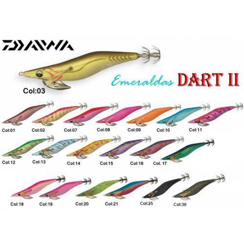 07210- - Daiwa Totanare Egi Esmeraldas Dart II 2,5