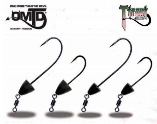 OMTD T-TROUT Serie OJ700 Testine Piombate