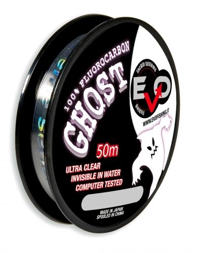 Monofilo Invisibile Evo Ghost Fluorocarbon Wire 50 Mt