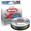 Berkley x9 Trecciato Braid 9 capi 150mt pesca green