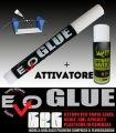 Colla Evo Glue + Attivatore Evo Geko Universale + Supporto