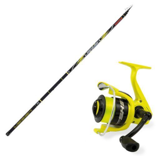 HEAVEN-SUP - Kit de pesca boloñesa Trabucco Rod Heaven Extreme Evo Supreme CX Reel