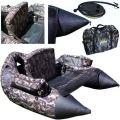 Belly Boat Pesca Ciambellone XXL Tessuto Oxford