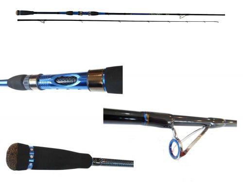 Canna Da Pesca Spinning Scorpion 240 Carbonio anelli Sic 15/40gr
