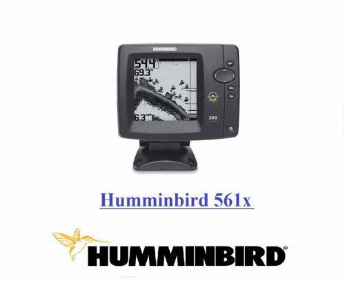 ECOSCANDAGLIO HUMMINBIRD 561x DEPTH 240 MT FREQUENZA 83/200 kHz