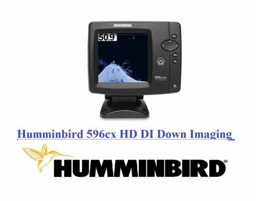 ECOSCANDAGLIO HUMMINBIRD 596cx HD DI Down Imaging DEPTH 76/180mt