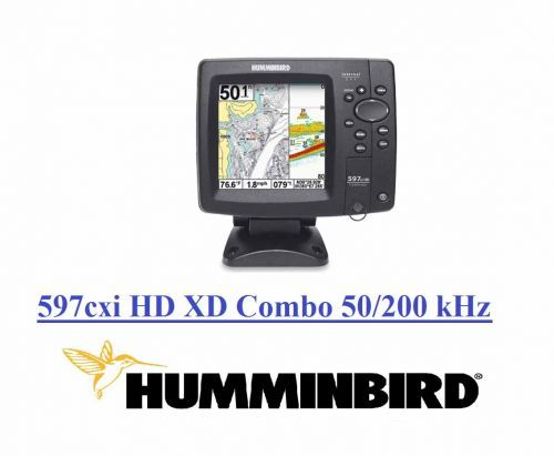 ECOSCANDAGLIO HUMMINBIRD 597cxi HD XD Combo 50/200 kHz 750 Mt