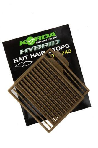 Korda Hybrid Bait Hair Stops Ferma Boilies Esca Carpfishing