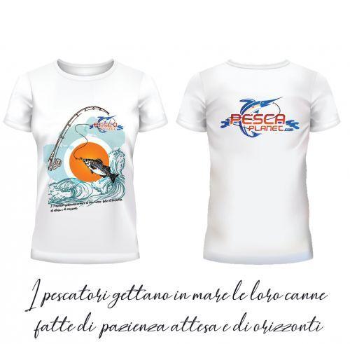 T-shirt Pescaplanet Tg XL