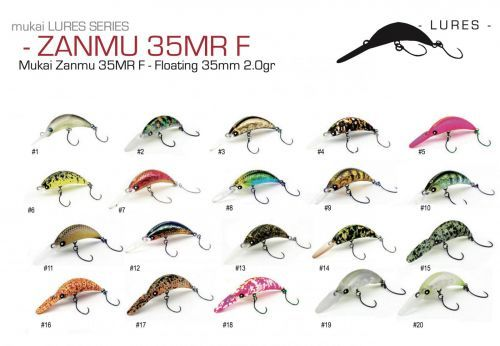 9421-35- - Mukai Crank Zanmu 35mm 2,0gr Trout Area Game