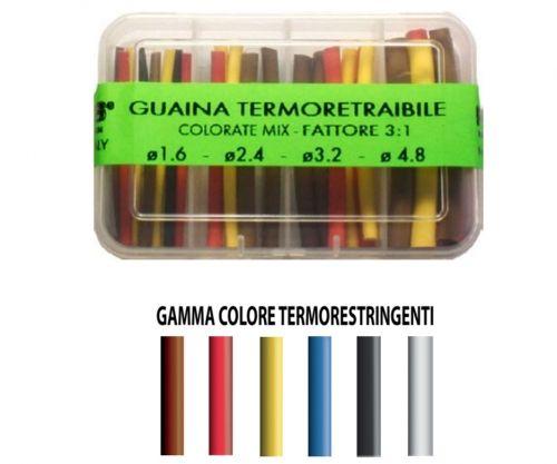 ART056 - Mix Guaina Termoretraibile x Terminali surf bolentino Multicolore