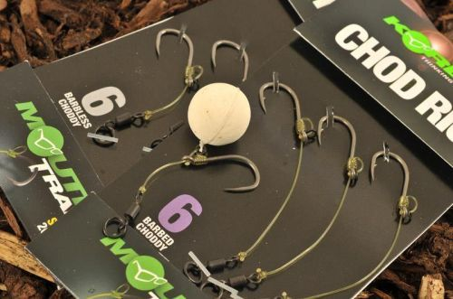 CHOD-KORDA - Korda Chod Rig Barbed N° 4 Short & Long