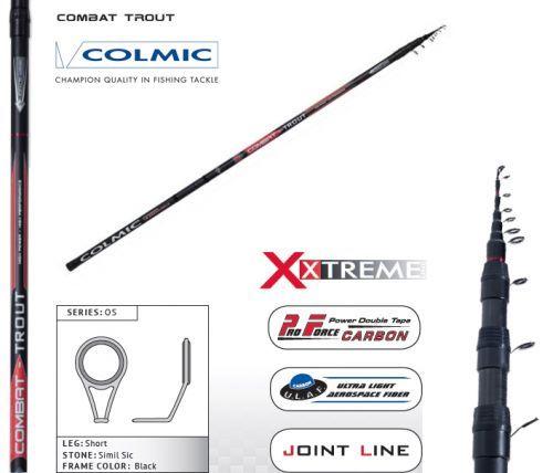 COMBAT - Canna Teleregolabile Colmic Combat 6-7-8 m