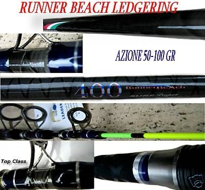 CANNA DA PESCA RUNNER BEACH LEDGERING 4 MT 50-100 G