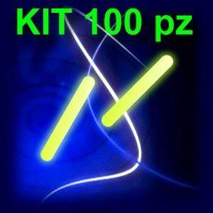 OFFERTA KIT 100 STARLIGHT GIALLE STANDARD 4.5