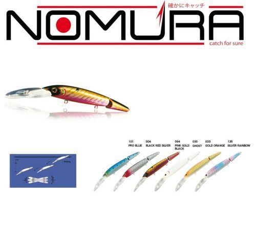 DEEP-PREDATOR - Artificiale nomura Deep Predator Snodato 14cm