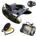 Belly Boat Evo Fishing Olive Bass Fishing