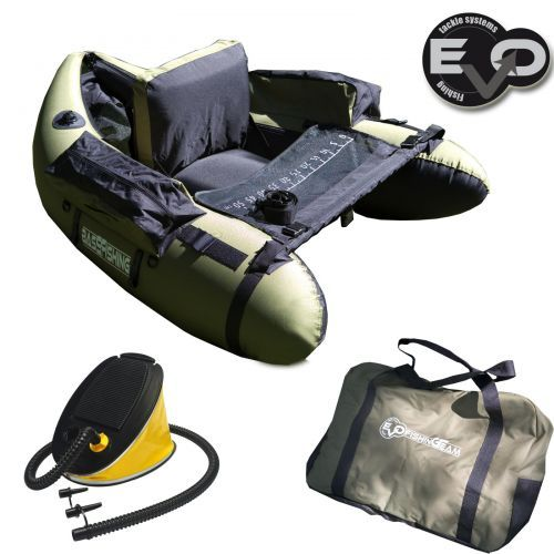 EV77090 - Belly Boat Evo Fishing Olive