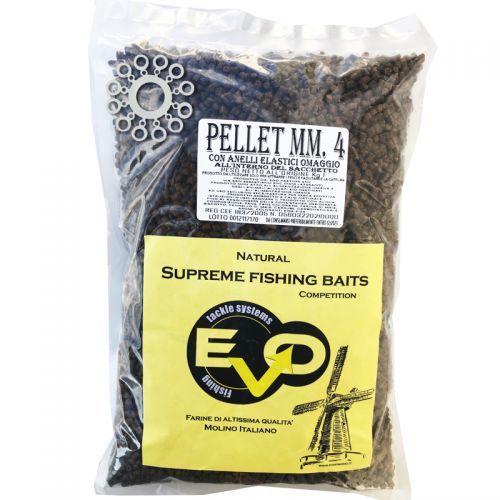 EVOPAST028 - Evo Pellet Supreme concentred 4 mm 1 kg + anellini stonfo