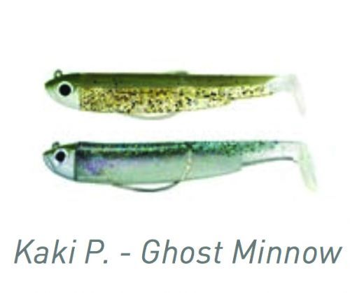FIBM758000000 - Black Minnow Fiiish Double Combo Kaki Ghost Minnow
