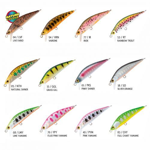 HELLION - Rapture Hellion Artificiale Minnow 5 mm