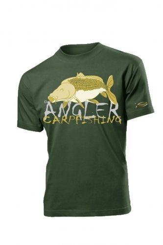 T-Shirt Hotspot Carpfishing Verde XXL