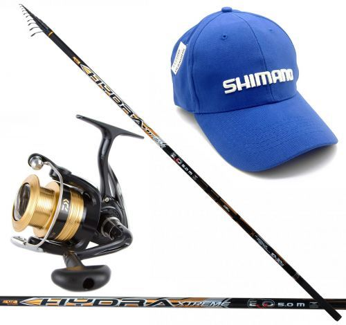 HYDRA-KIT - Evo-fishing Hydra Extreme rod Bolo + Daiwa reel shimano hat