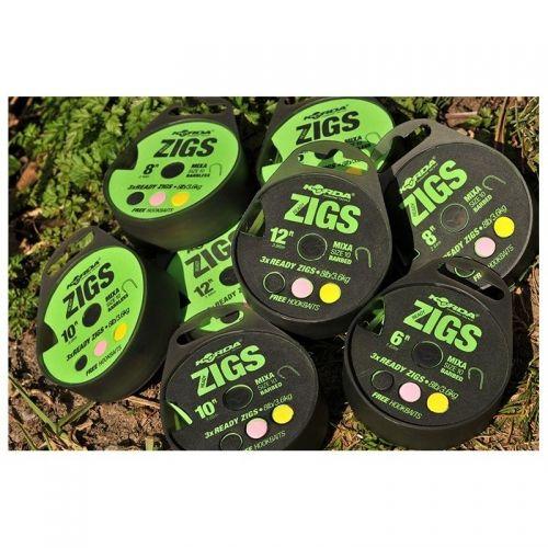 """KCR065 - Ready Zigs 12\"""" (360cm) Size 10"""