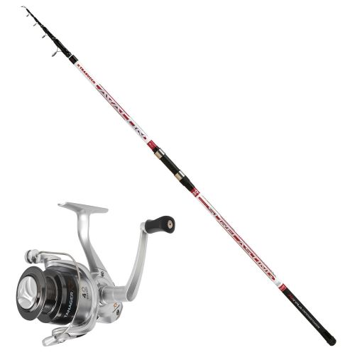KP1936 - Kit Surfcasting Canna Trabucco Avalon Mulinello Mitchell RZ 7000