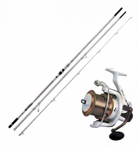 KP2118 - Kit Surfcasting Canna Avocet 100-250 Gr + Mulinello Fortezza 60