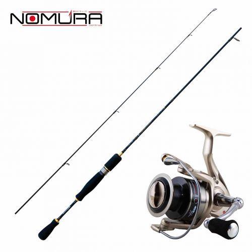 KP2198 - Kit Trout Area Nomura Canna Akira 160 cm + Mulinello Haru 1000