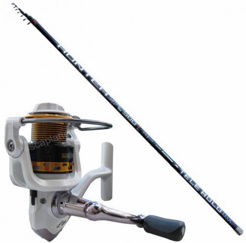 KP2433 - Canna Bolognese 6 mt Mulinello Globe Fishing Kaya 2000