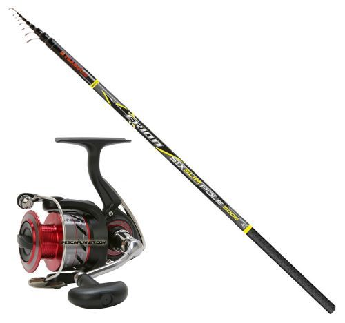 KP2438 - Kit Bolognese Canna Erion STX Slim 5 m + Mulinello Crossfire 2500SR