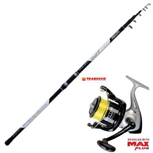 KP2588 - Kit Pesca Canna Long Cast 420 +  Mulinello Trabucco 6500